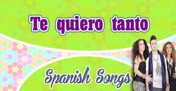 Te Quiero Tanto Ov7 Spanish Circles