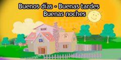 Hola A Todos Buenos Dias Spanish Circles